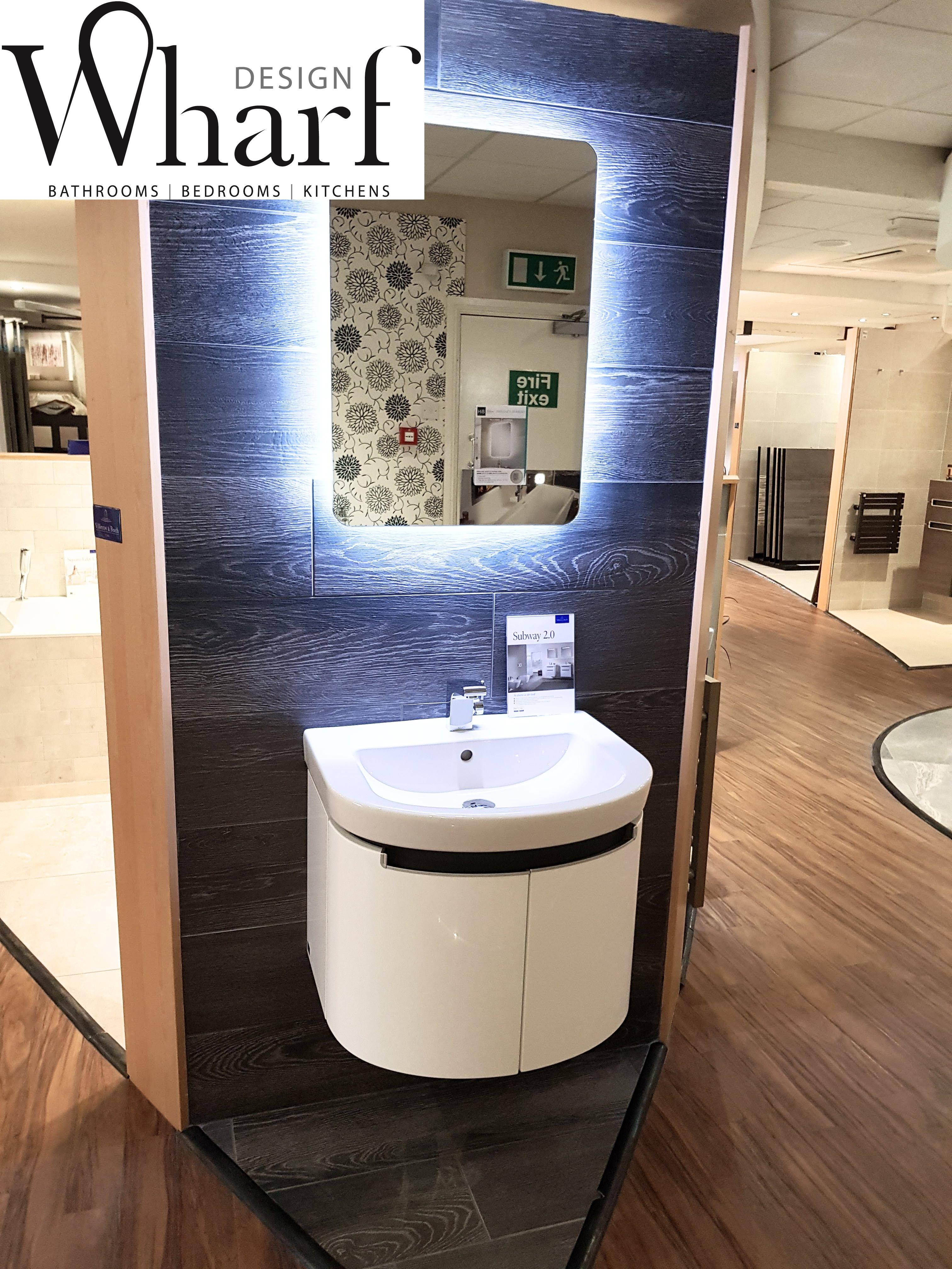 Salle De Bain Moderne Sol Bois ~ Wharf Design Congleton Villeroy Boch Showroom Revamp Wharf